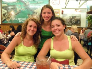 My 3 very smart daughters.  I have a very smart son as well, but he is just as hen-pecked as me so I don't include him in my gripes.