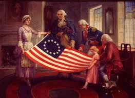 first american flag