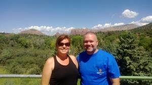 Tony & Holly in Sedona Arizona