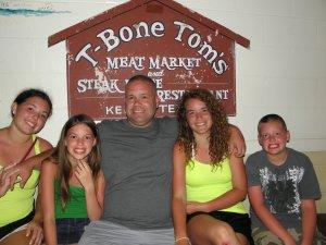 The Siblings & Their Dad
