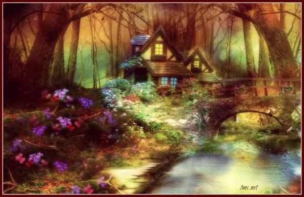 Fantasy forest house via 1ms.net SG