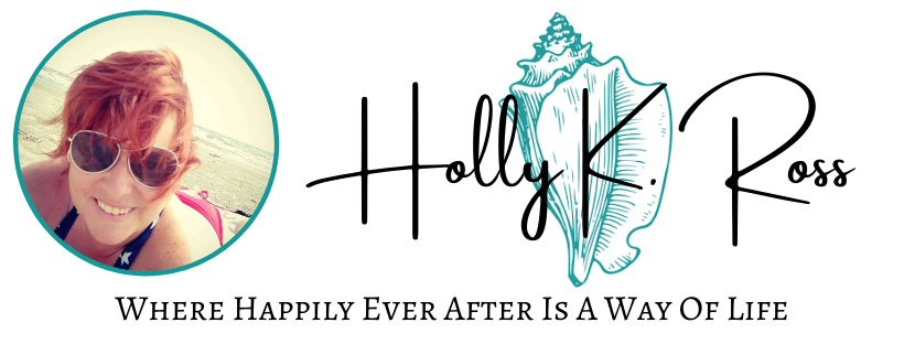 banner with image of Holly K. Ross, happily ever after is a way of life.  Writer, author, content creator, web design,  writer of romance books and lover of herbs.