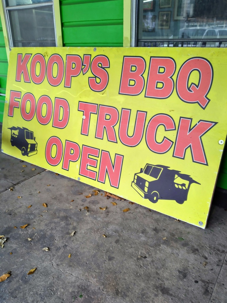 Koop's BBQ Kitchen and Catering, Good local Food, Galveston Island, Galveston Texas