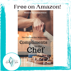 Cover -photo -of -romance -novel- Compliments- to -the -Chef