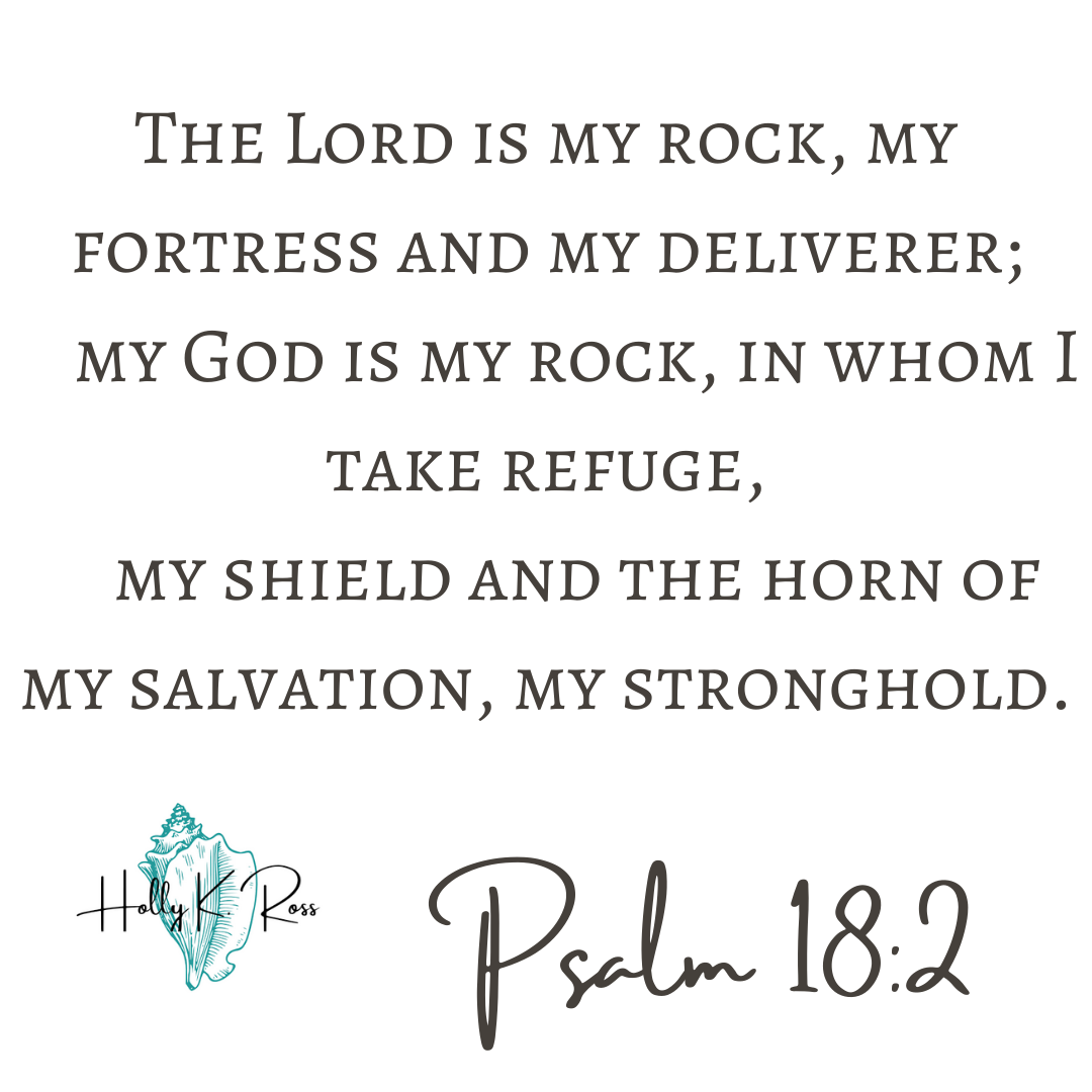 The Lord is my rock, my fortress and my deliverer; my God is my rock, in whom I take refuge, my shield[b] and the horn[c] of my salvation, my stronghold. Encouragement, God is with Us